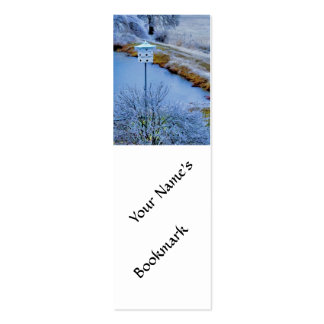 Martin House in Winter Pack Of Skinny Business Cards