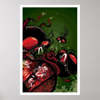 Martin Hsu - Attack of the Octobunny Poster