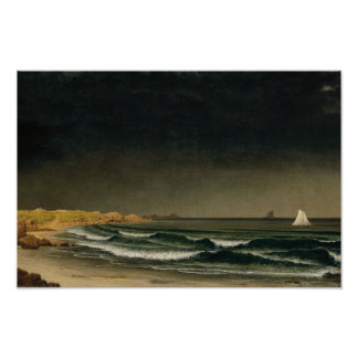Martin Johnson Heade - Approaching Storm Poster