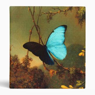 Martin Johnson Heade Blue Morpho Butterfly Binders