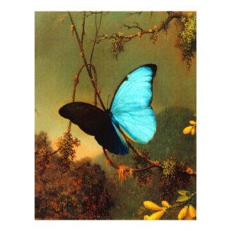Martin Johnson Heade Blue Morpho Butterfly Custom Flyer