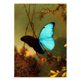 Martin Johnson Heade Blue Morpho Butterfly Pack Of Chubby Business Cards