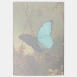 Martin Johnson Heade Blue Morpho Butterfly Post-it® Notes