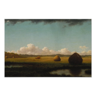 Martin Johnson Heade - Summer Showers Poster
