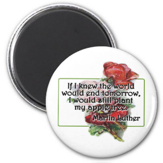 Martin Luther 2 Inch Round Magnet