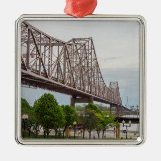 Martin Luther Bridge Metal Ornament