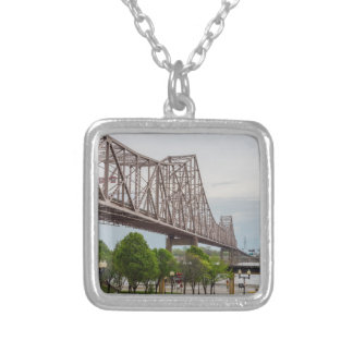 Martin Luther Bridge Silver Plated Necklace