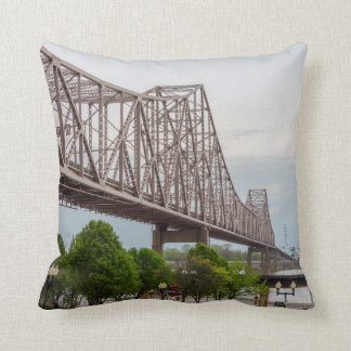 Martin Luther Bridge Throw Pillow