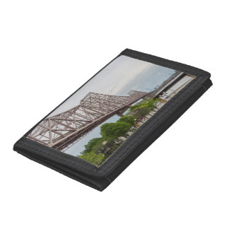 Martin Luther Bridge Trifold Wallets