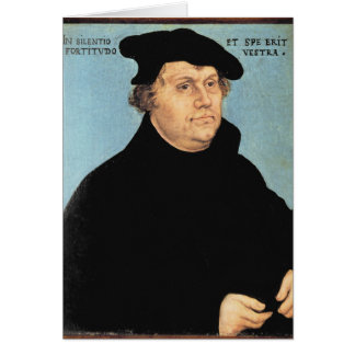 Martin Luther, c.1532 Greeting Card