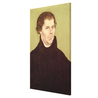 Martin Luther Stretched Canvas Print