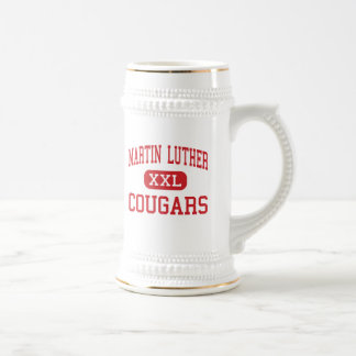 Martin Luther - Cougars - High - Maspeth New York Coffee Mugs