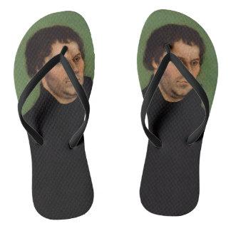 Martin Luther Flip Flops