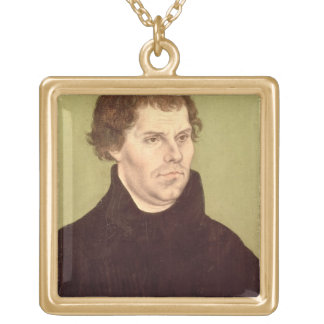 Martin Luther Gold Plated Necklace