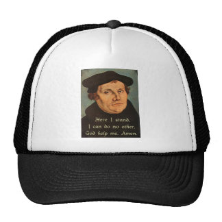 Martin Luther - Here I Stand Hat