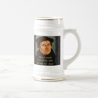 Martin Luther - Here I Stand Quotation Mug