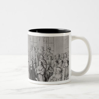 Martin Luther in front of Charles V Coffee Mugs