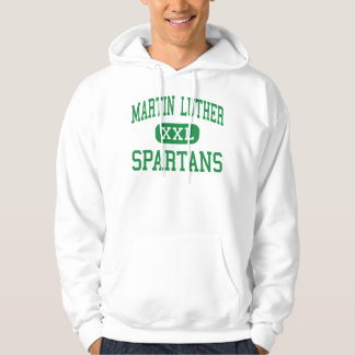 Martin Luther - Spartans - High - Greendale Hoodie