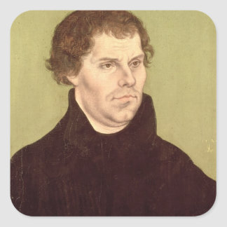 Martin Luther Square Stickers