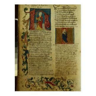 Martin Luther's Enrolment Postcard