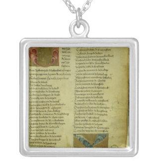 Martin Luther's enrolment sheet Custom Jewelry