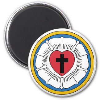 Martin Luther's Seal 2 Inch Round Magnet