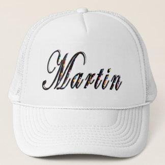 Martin Name Logo, Trucker Hat