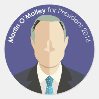Martin O'Malley 2016 for president custom sticker