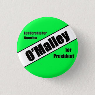 Martin O'Malley 2016 1 Inch Round Button