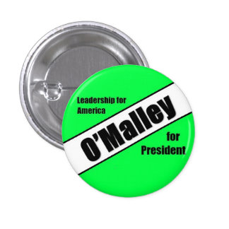 Martin O'Malley 2016 1 Inch Round Button