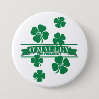 Martin O'Malley 2016 3 Inch Round Button