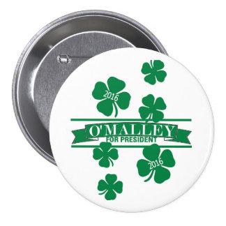 Martin O'Malley 2016 3 Inch Round Button