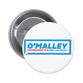 """Martin O'Malley 2016 Campaign Button - 2.25"""" Round"""