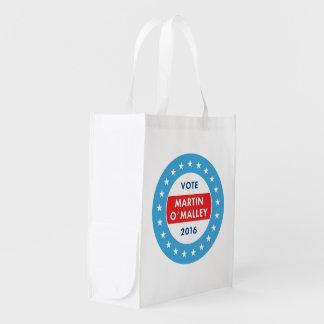 Martin O'Malley 2016 Reusable Grocery Bag