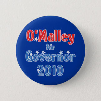 Martin O'Malley for Governor 2010 Star Design 2 Inch Round Button