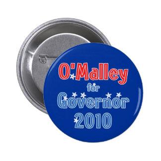 Martin O'Malley for Governor 2010 Star Design 2 Inch Round Button
