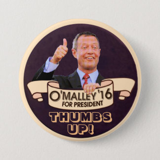 Martin O'Malley for Presiden 3 Inch Round Button