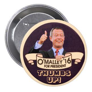 Martin O'Malley for Presiden 3 Inch Round Button