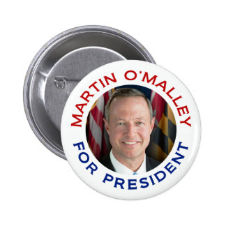 Martin O'Malley For President 2 Inch Round Button