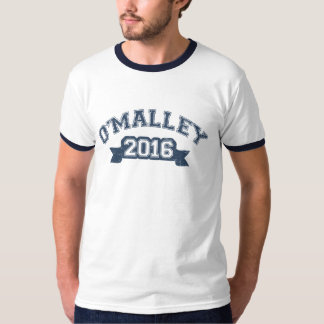 Martin O'Malley President 2016 Collegiate T-Shirt