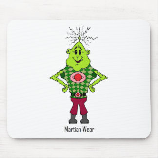 Martin the Martian Mouse Pad