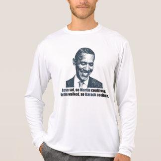 Martin walked so Barack could run. T-Shirt