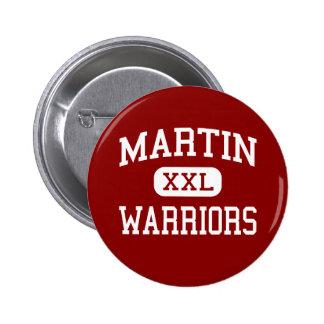 Martin - Warriors - High School - Arlington Texas Buttons