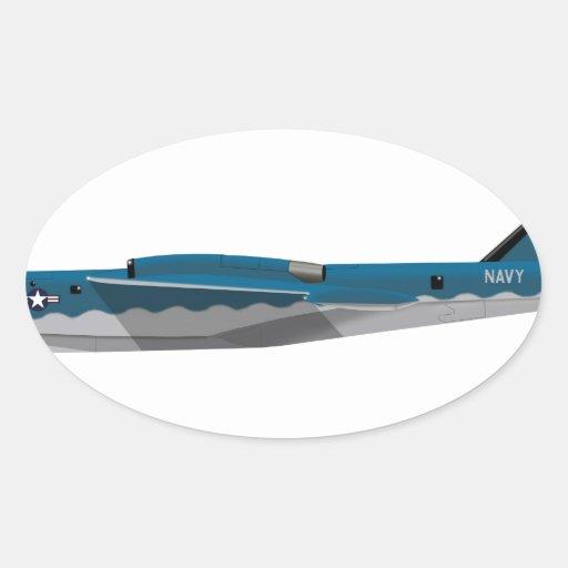 Martin YP6-M Sea Master Oval Sticker