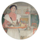 Martina Carrying Breakfast on a Tray, 1904 Plate