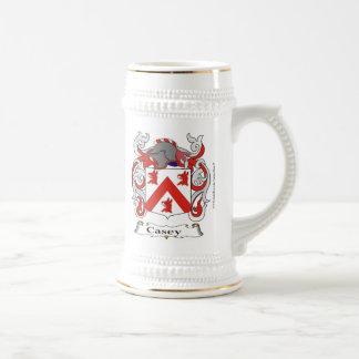Martinez-Casey dual crest Beer Stein