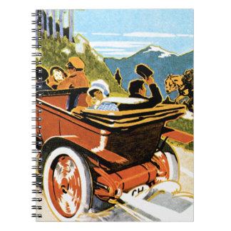 Martini Automobiles Spiral Note Book