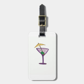 Martini Bachelorette Party Luggage Tag