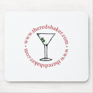 Martini Circle Mousepad