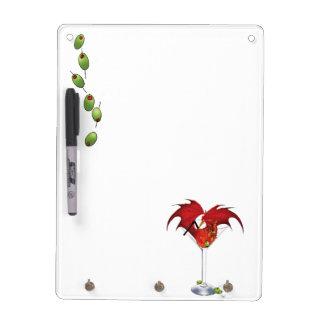 Martini Dragon Dry Erase Board